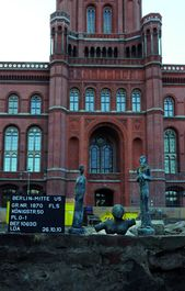 Der Ausgrabungsort in Berlin, Foto: Landesdenkmalamt Berlin, Manuel Escobedo