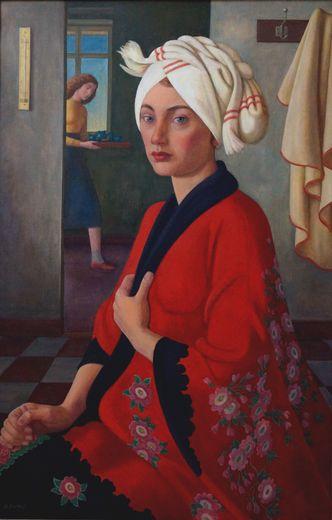 Ehmig, G. Bildnis der Gattin des Künstlers