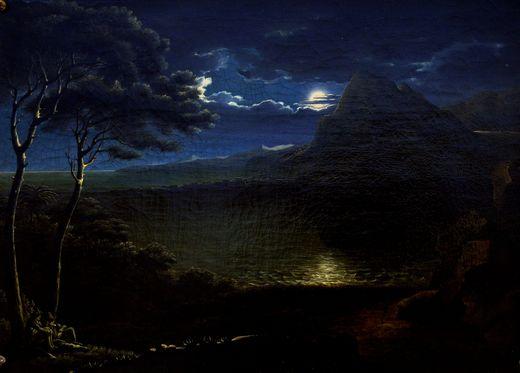 Geist, A. Mondscheinlandschaft 06028