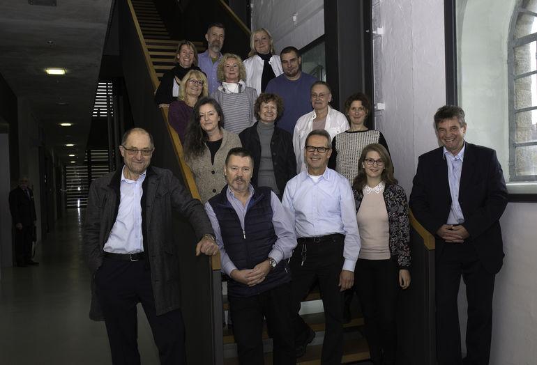 Das Team des Museum im Kulturspeicher, Foto Andreas Bestle, ©Museum im Kulturspeicher