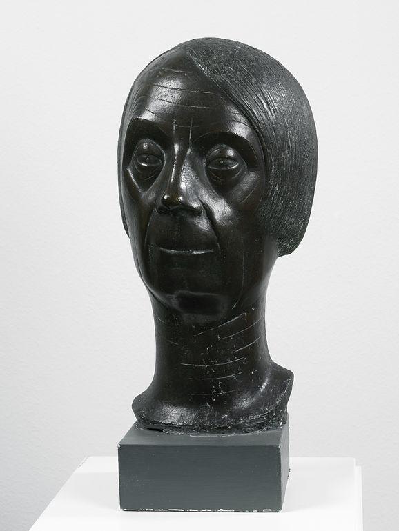 Emy Roeder, Selbstbildnis, 1958, Bronze, Museum im Kulturspeicher