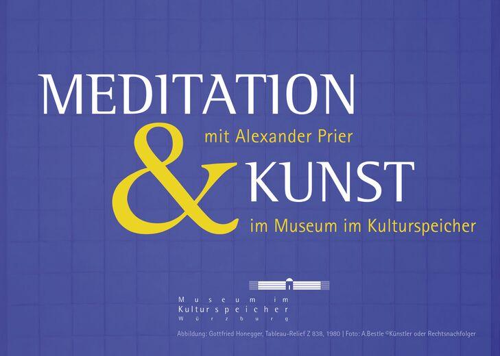 Meditation und Kunst mit Alexander Prier