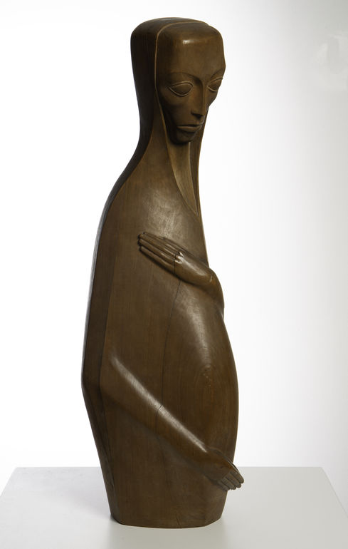 Roeder, Emy, Die Schwangere, 1920 Foto: Andreas Bestle ©Museum im Kulturspeicher