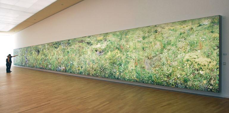 Hiroyuki Masuyama, 1000 Blumen, Installationsansicht Kunsthalle Gießen 2011 Foto: Jörg Hejkal © Hiroyuki Masuyama