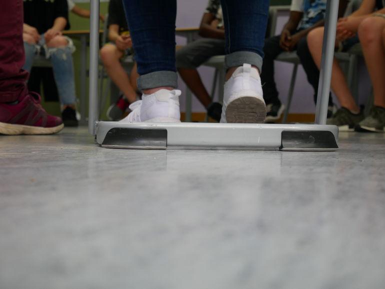 8.00 Uhr: Stuhlkreis Geschichte, Foto Schüler*in des Projektes, ©MiK