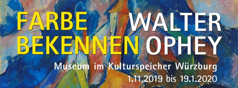 Walter Ophey. Farbe bekennen 01.11.19-19.01.20
