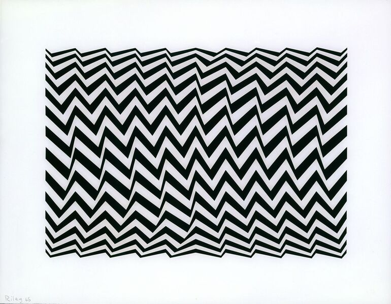 Riley, Bridget, Untitled Fragment 3,1965 ©Bridget Riley, 2018