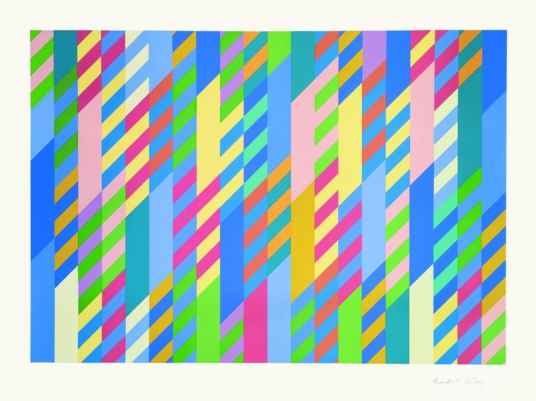 Bridget Riley, June, 1992-2002 ©Bridget Riley, 2018