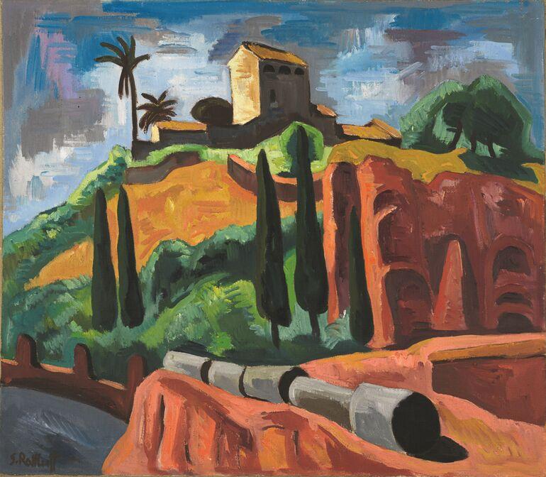 Schmidt-Rottluff, Karl, Monte Palatino, 1930, Foto Nick Ash © VG Bild-Kunst Bonn, 2020