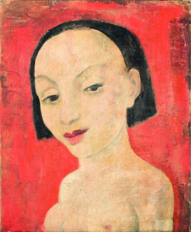 Anita Rée, Bildnis Giuseppina, 1922-25 Foto Christoph Irrgang © Privatsammlung