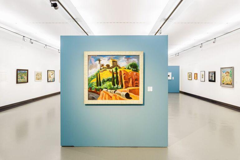 2. Ausstellungsansicht Italiensehnsucht Foto J. Kiefer © MiK 145