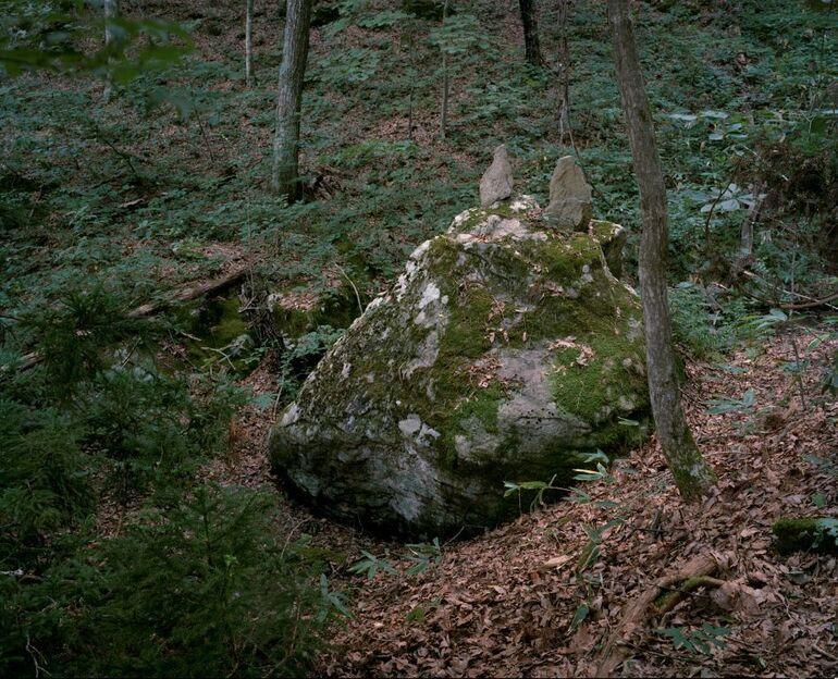 111 R. Knoth, A. de Jong, Wolfsberg, Toratori, Bezirk Soma, Präfektur Fukushima Foto und ©deJongKnoth