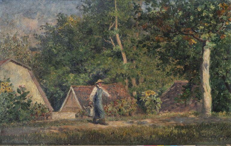 10a. Gleichen-Russwurm, Ludwig von, In der Gärtnerei, 1892 Foto T. Goethe ©Privatbesitz